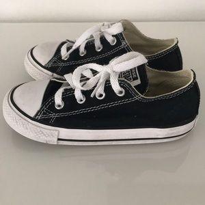 Converse Shoes - Kids Black Converse All Stars